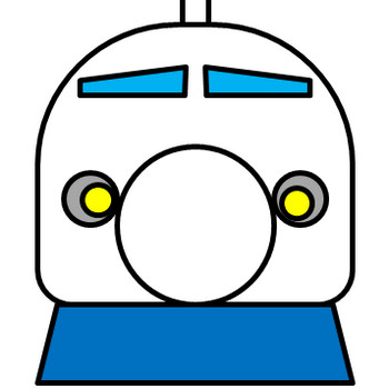新幹線のイラスト フリー素材 イラストカット.com