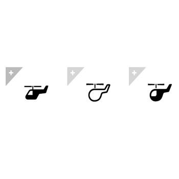 ヘリコプター | アイコン素材ダウンロードサイト「icooon-mono」 | 商用利用可能なアイコン素材が無料(フリー)ダウンロードできるサイト
