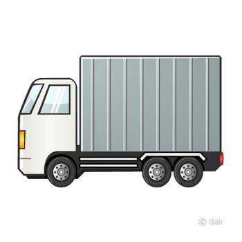 大型トラックの無料イラスト素材|イラストイメージ