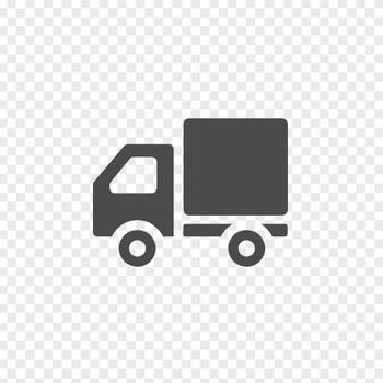 トラックの配送アイコン | アイコン素材ダウンロードサイト「icooon-mono」 | 商用利用可能なアイコン素材が無料(フリー)ダウンロードできるサイト