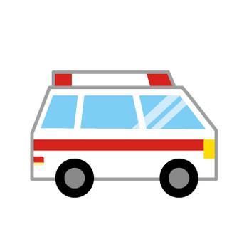 [フリーイラスト] 9種類の救急車のセットでアハ体験 - GAHAG | 著作権フリー写真・イラスト素材集