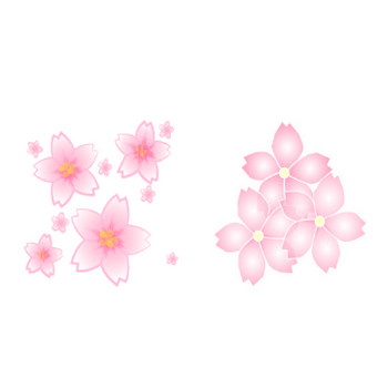 桜(さくら)の無料イラスト