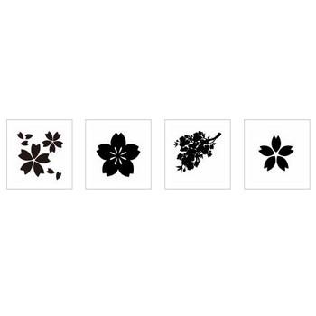 桜|シルエット イラストの無料ダウンロードサイト「シルエットAC」