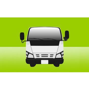 トラック ( 正面 ) イラスト フリー 無料 | WEB素材・イラスト ダウンロードサイト Monkeeey