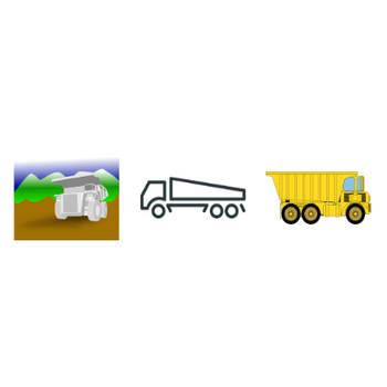 56 大型トラック 無料クリップアート | パブリックドメインのベクトル