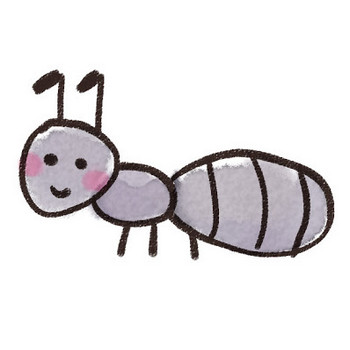 アリのイラスト(虫): ゆるかわいい無料イラスト素材集