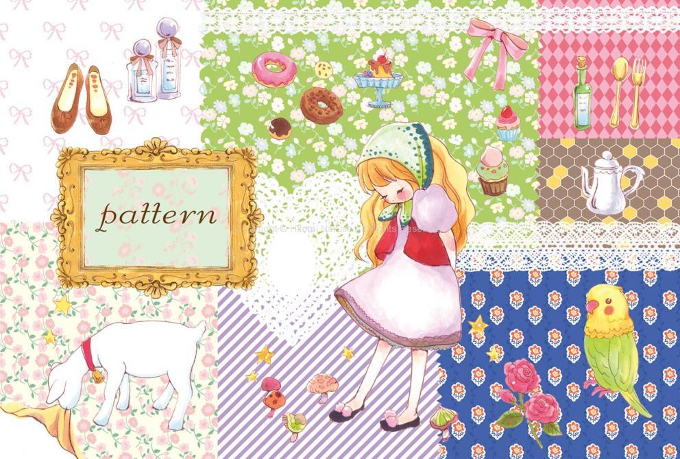 個展「pattern」イラスト(2010年)