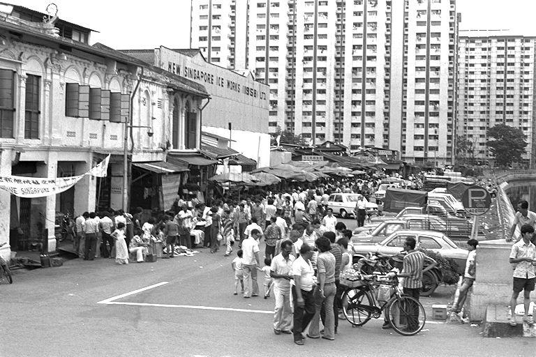 Sungei Road in 1978.