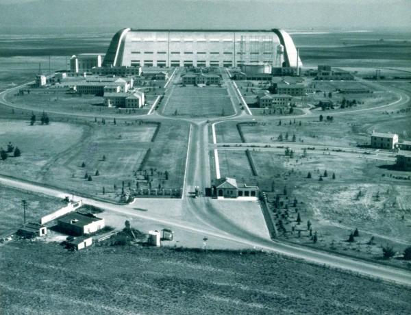 NASA Historic Hangar One