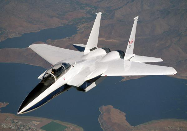 NASA Drydens F15B Ready to Fly SBLTII Flight Tests