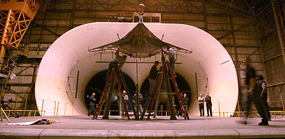 NASA - Team Uses Historic NASA Tunnel to Test Blended Wing ...
