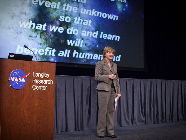 NASA - Langley Budget Request Reflects New Program