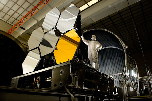 NASA - James Webb Space Telescope Cryogenic Mirror Test ...