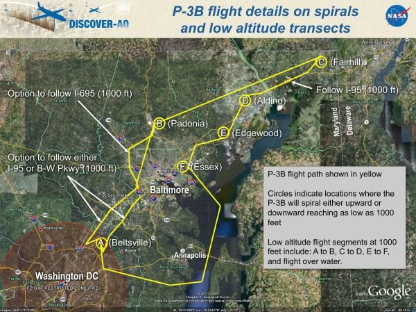 NASA - Wallops P-3B Supporting Air Pollution Study