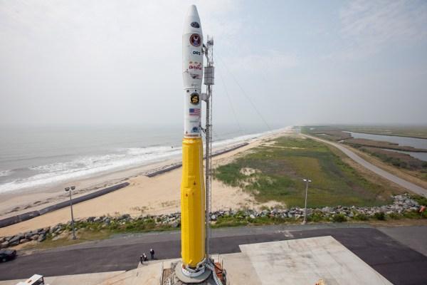 NASA - Minotaur Rocket Launch Completed from NASA Wallops
