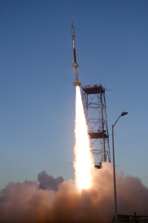 NASA - Images from Sept. 21 RockSat-X launch