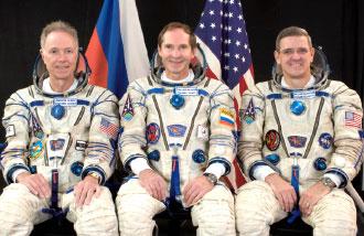 Greg Olsen, Valery Tokarev, William McArthur