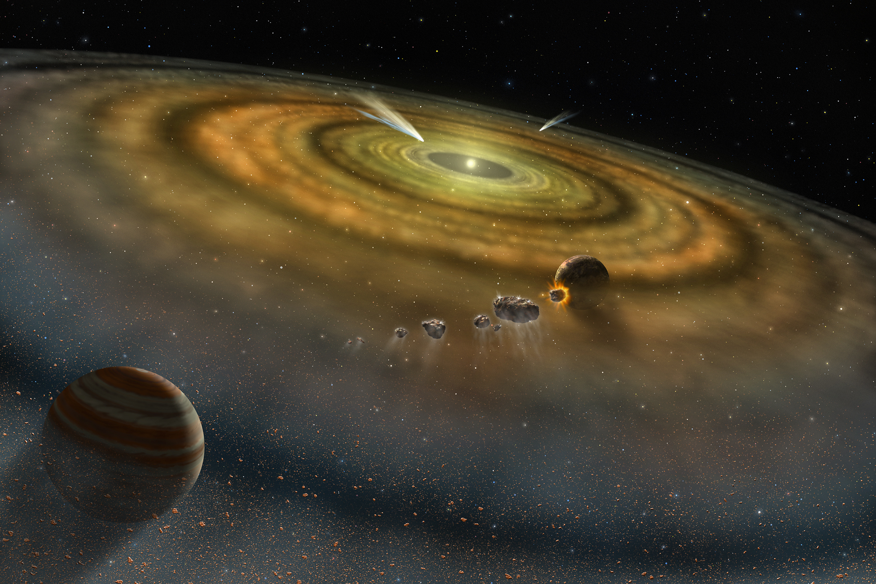 Pembentukan tata surya