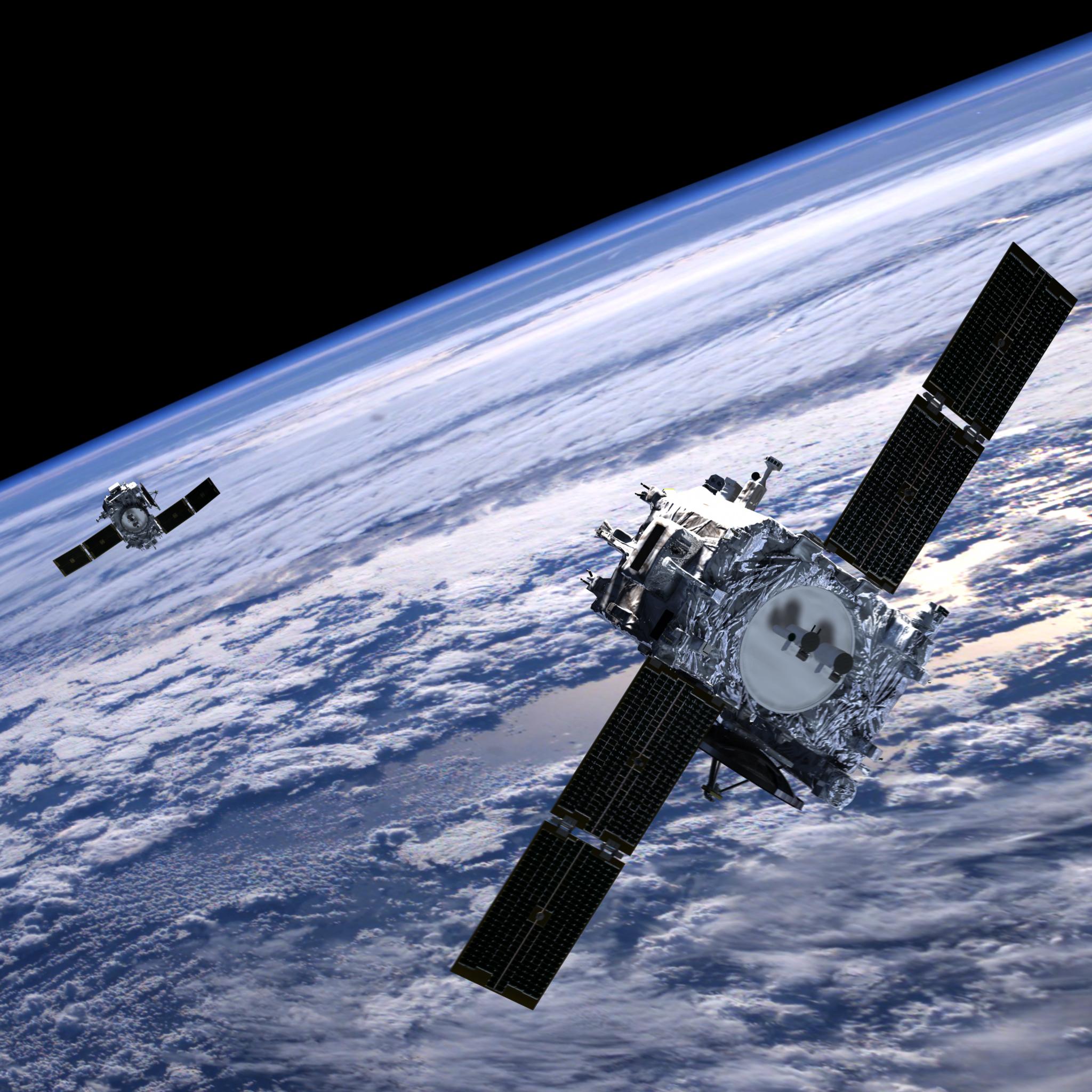 Space based solar array, image courtest NASA.gov