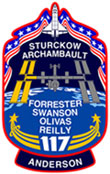 STS 117 patch