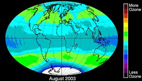 NASA - NASA, NOAA Data Indicate Ozone Layer is Recovering