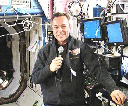 Expedition 21 Flight Engineer Robert Thirsk