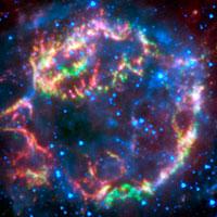 NASA - NASA's Spitzer Peels Back Layers of Star's Explosion