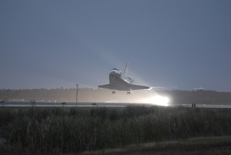 Shuttle Discovery Landing 12/22/06