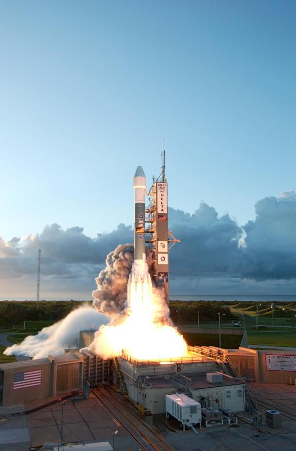 Dawn Launch NASA