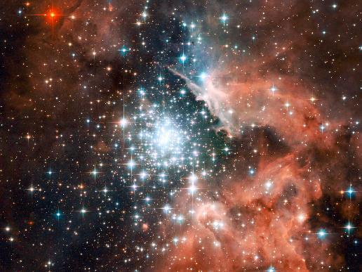 Giant Nebula NGC 3603
