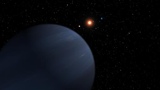 artist concept of exoplanet