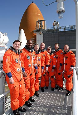 STS-12 Mission Crew