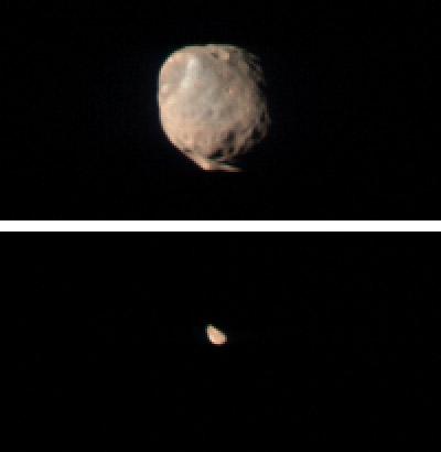 NASA - Views of Phobos and Deimos