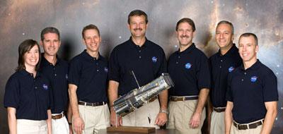 JSC2006-E-47144: STS-125 Crew