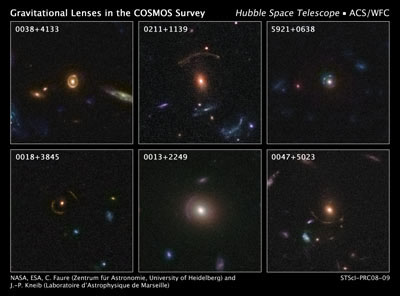 hubble Discovers 67 New Gravitationally Lensed Galaxies in ...