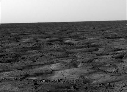 Phoenix's landing site on Mars