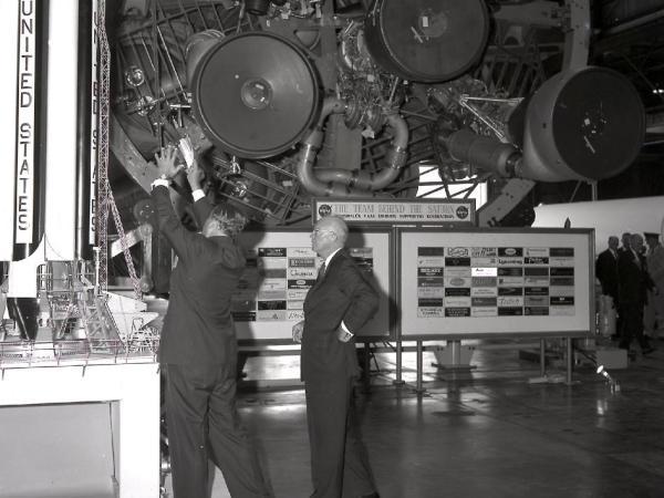 Eisenhower and Von Braun | NASA
