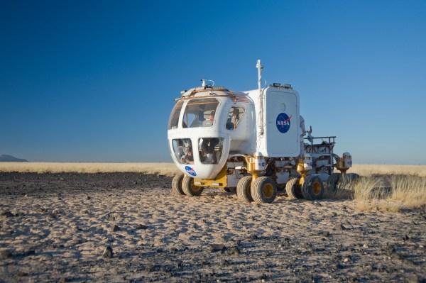 NASA Three Days in the Desert Tests Lunar quotRVquot