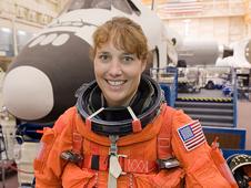 Astronaut Dorothy Metcalf-Lindenburger, former teacher - NASA photo