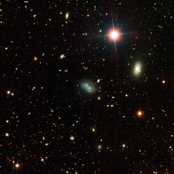 NASA - Astronomers Discover Star-Studded Galaxy Tail