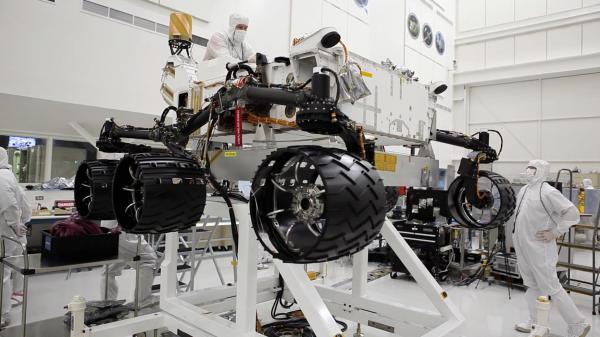 NASA Watch NASAs Next Mars Rover Being Built Via Live