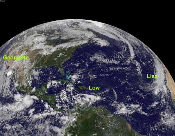 NASA - Hurricane Season 2010: Tropical Storm Lisa ...