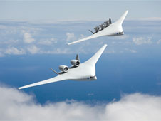 Artist's concept of a 2025 aircraft from the team led by The Boeing Company.