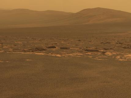 Endeavour crater, Mars
