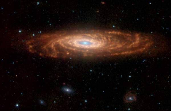 NASA Seeing Double Spitzer Captures Our Galaxys Twin