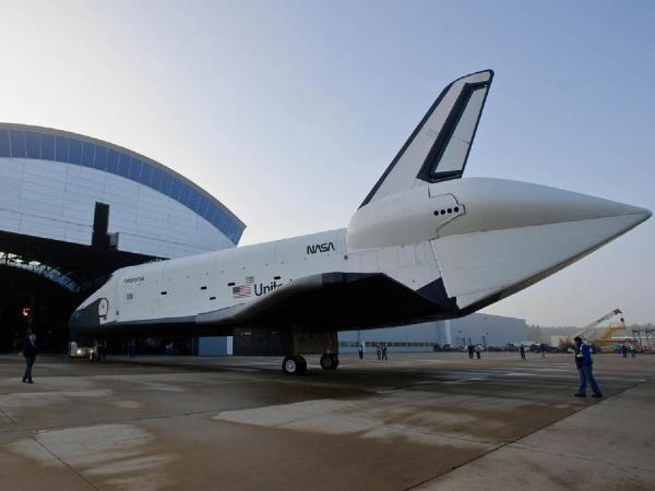 NASA - Enterprise on the Move Again