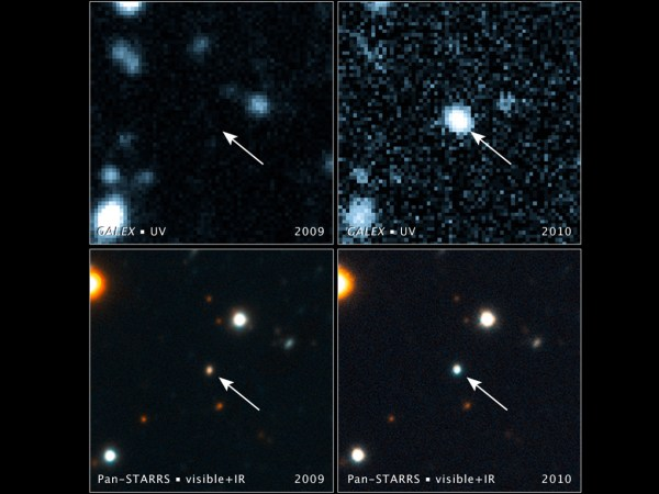 NASA Black Hole Swallows a Star