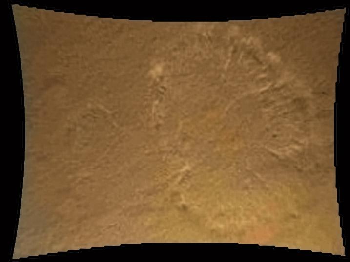 Landing site.  NASA.