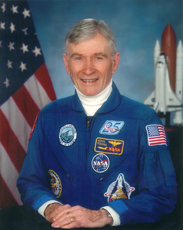 NASA From Gemini to Shuttle John Young Retires