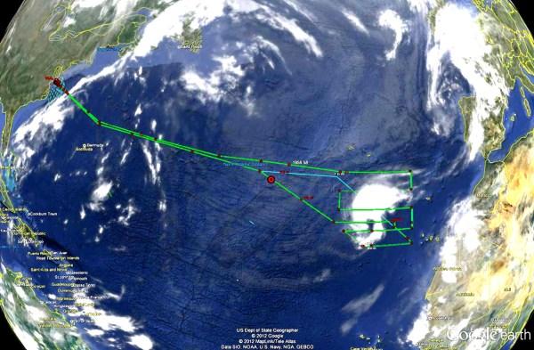 NASA - Tropical Storm Nadine (Atlantic Ocean)